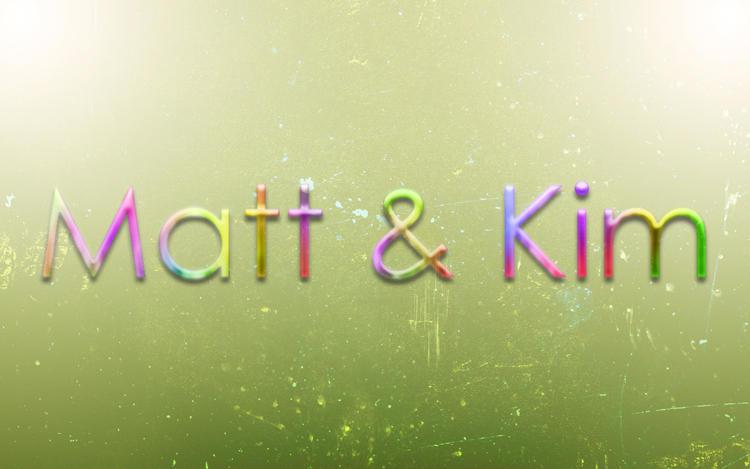 Matt and Kim by fartoolate