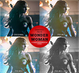 Graphic's PSD Pack Wonder Woman