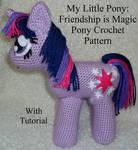 MLP: FiM Pony Crochet Pattern (with Tutorial)