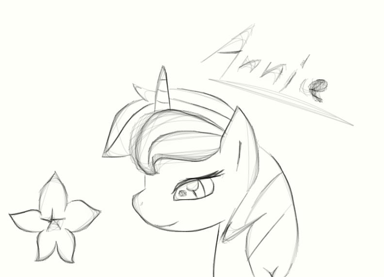 Annie sketch by Emeraldy-Dust