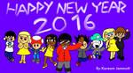 Happy New Year 2016 by KStarboy