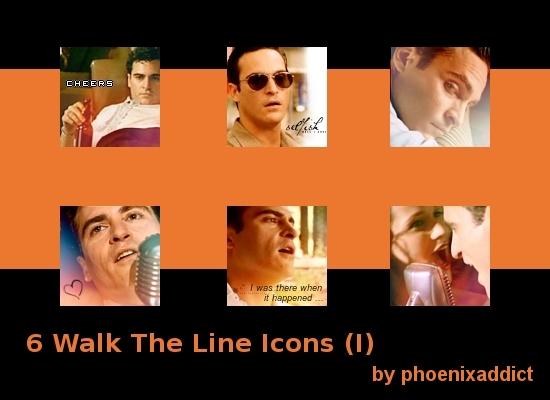 Walk The Line Icons I