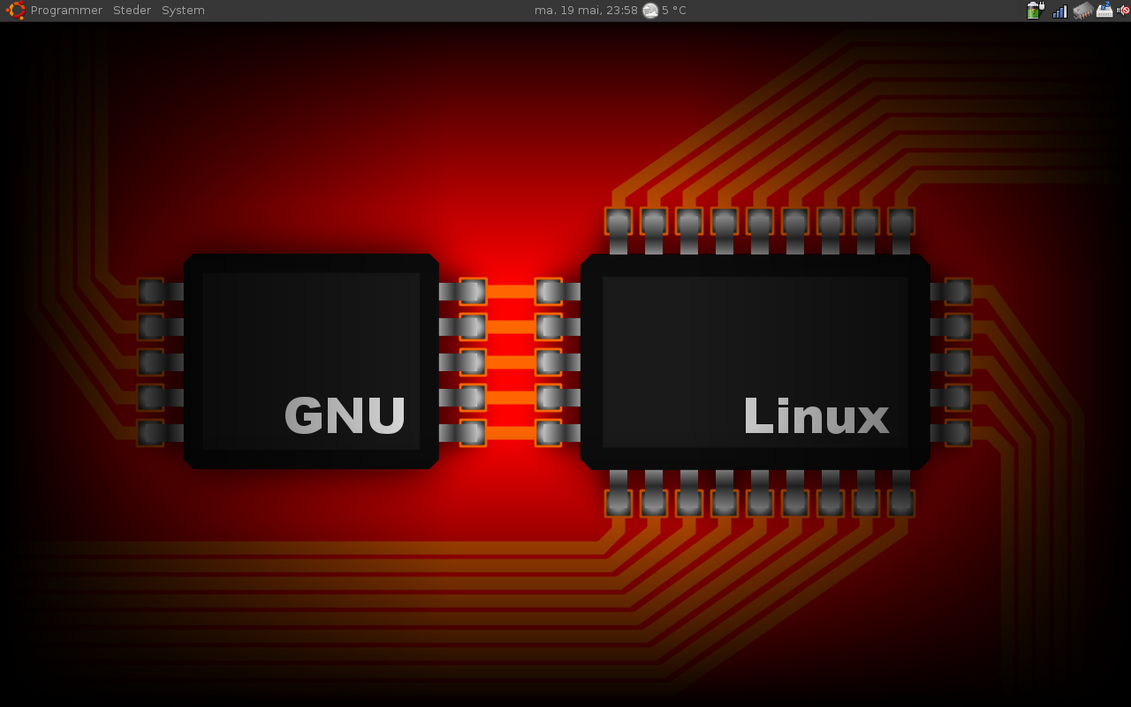 GNU linux pcb by Supersopp on DeviantArt