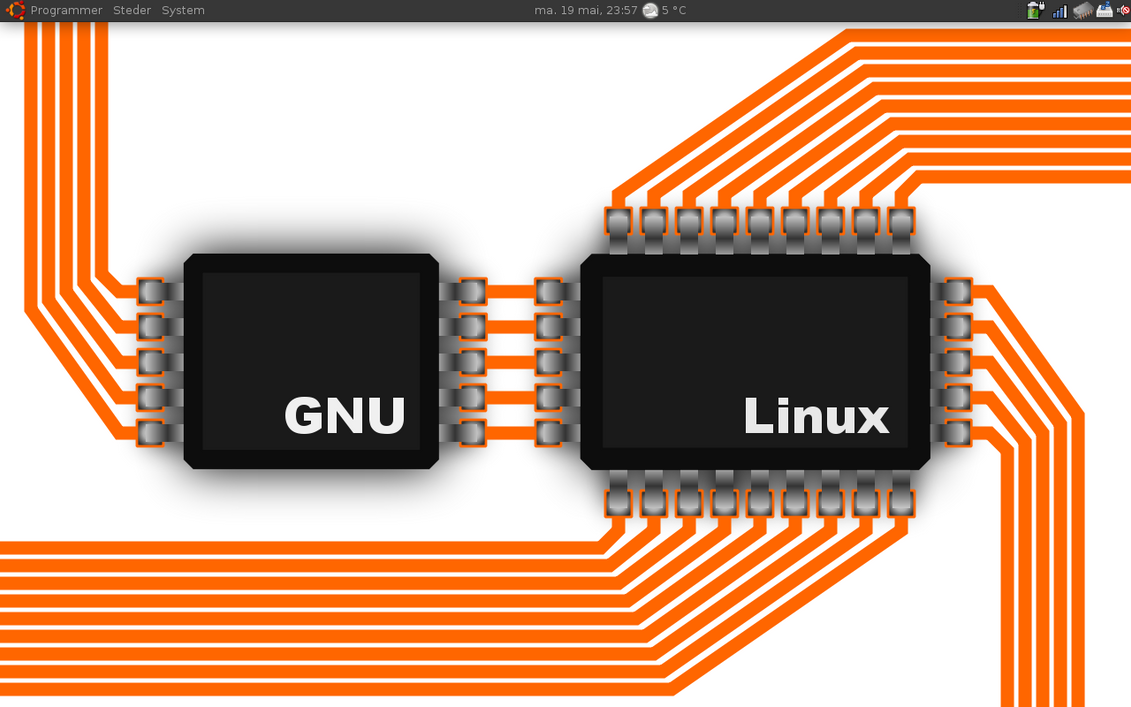 GNU linux pcb no black by Supersopp on DeviantArt
