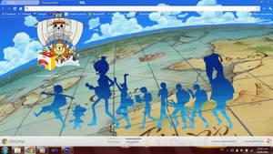 One Piece theme for chrome