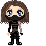 Winter Soldier Cross Stitch PATTERN by Phylpo