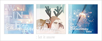 Let it snow : icon set by Keila-the-fawncat