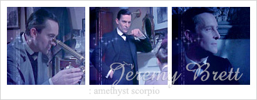 Jeremy Brett - amethyst Scorpio : icon set by Keila-the-fawncat