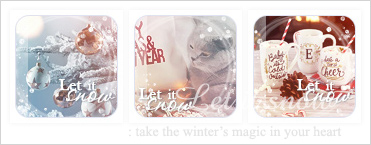 Let it snow 2 : icon set by Keila-the-fawncat