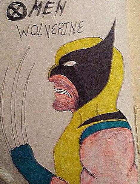omen wolverine by animec20