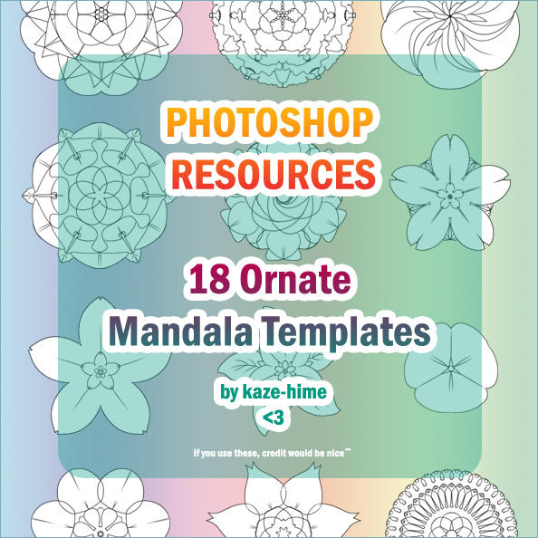 Resource: 18 Ornate Mandala by Kaze-Hime