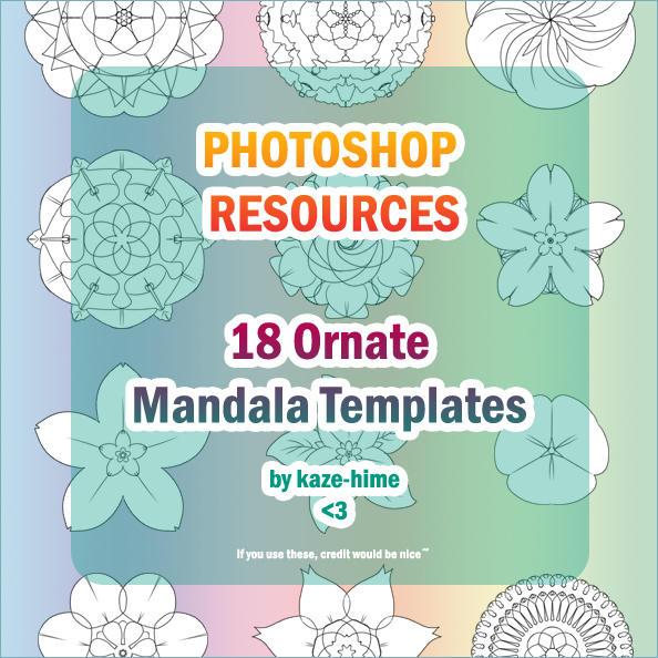 Resource: 18 Ornate Mandala by Kaze-Hime