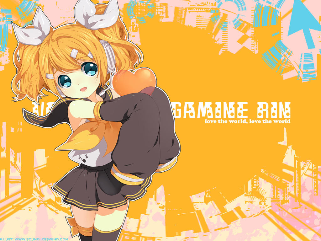 Download 8 rin wallpapers by kaze hime on deviantart - Rin wallpaper ...