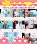 Holly Bunny Box by Kaze-Hime