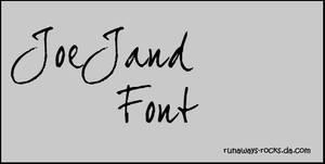 JoeJand Font