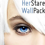 .Wallpaper Pack Her Stare by TheSpinxSage