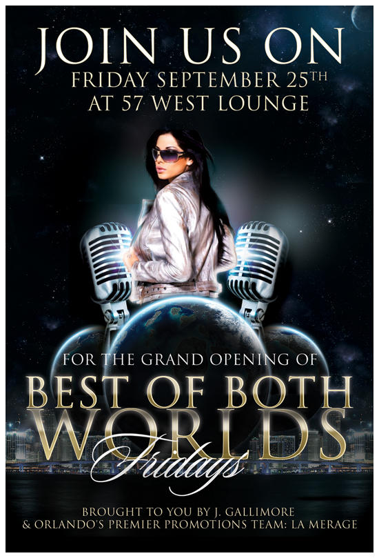 Flyer .Best Of Both Worlds by TheSpinxSage