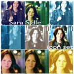 Sara Sidle icon set by lotus82