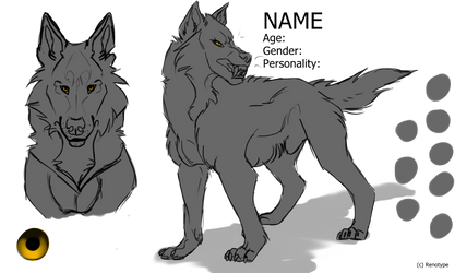 Wolf Reference Template (50 POINTS)