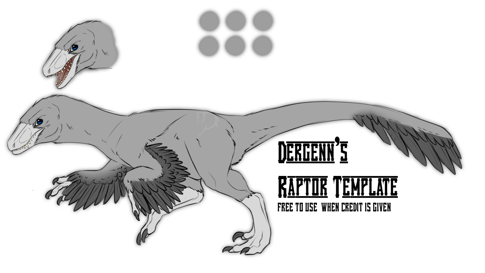 dergen s 2016 raptor template f2u by dergenn on deviantart dergen s 2016 raptor template f2u by