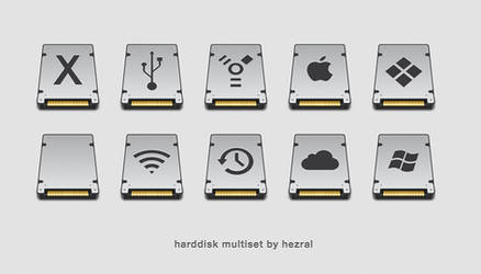 harddisk multiset by hezral