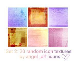 Set 2: Random Icon Textures
