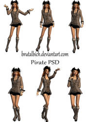 Pirate PSD