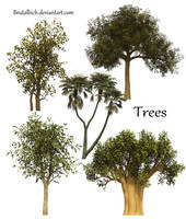 Trees PSD by brutalbich