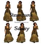 Steampunk Sassy PSD