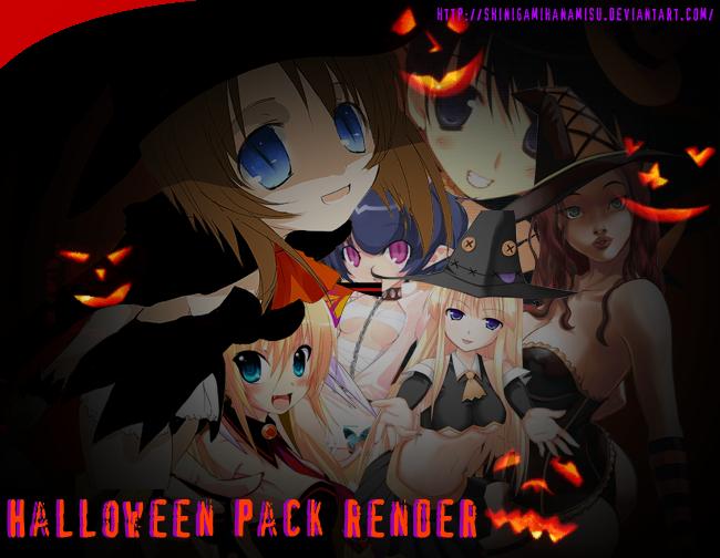 Halloween Pack Render by Shinigamihanamisu