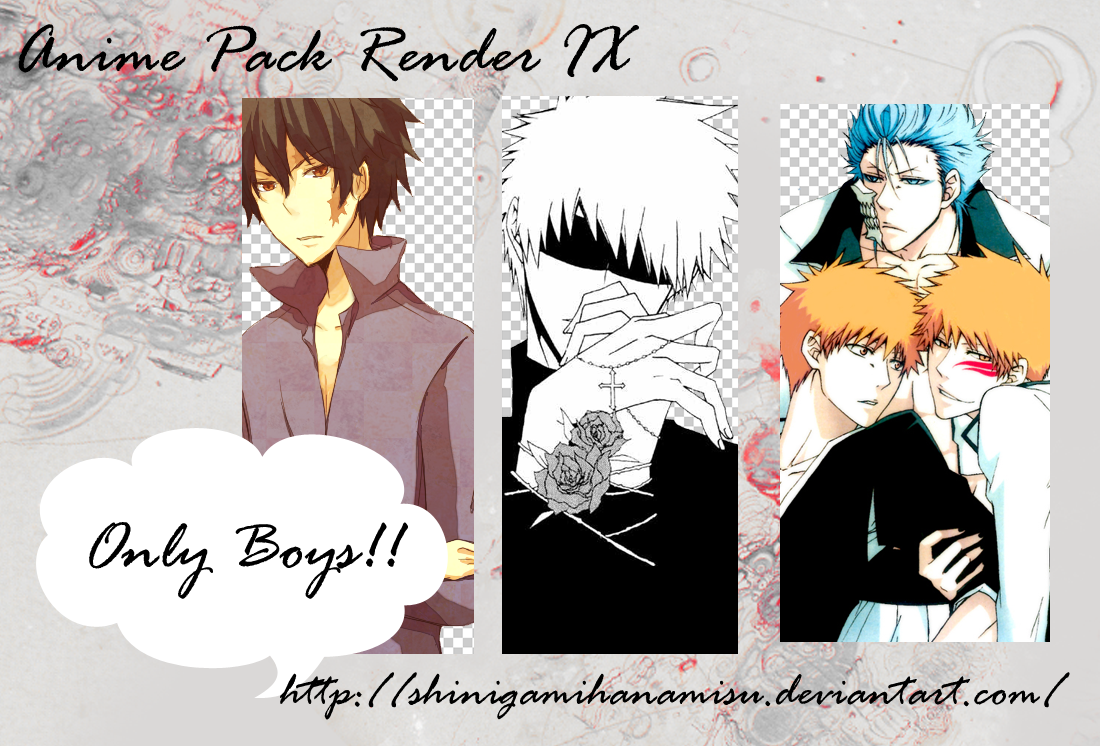 Anime Pack Render Anime_pack_render_ix_boys_by_shinigamihanamisu-d3iegfe