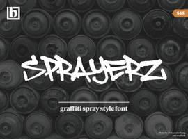 Sprayerz Font