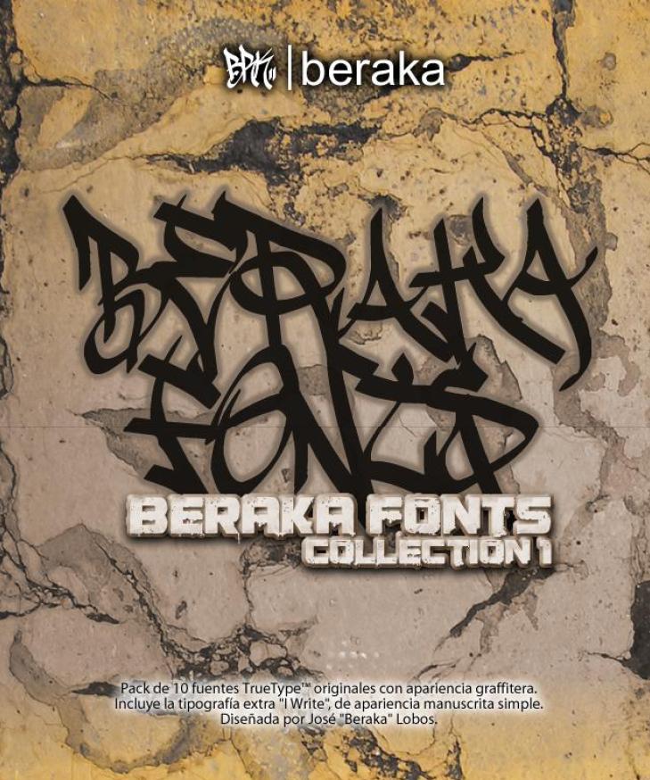 Beraka Fonts Collection 2008 by beraka