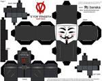 V for Vendetta Cubeecraft
