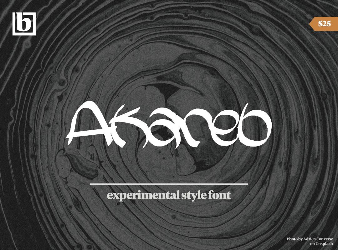 Akareb Font