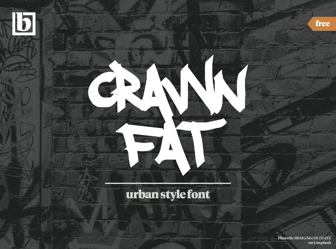 Crawn Fat Font