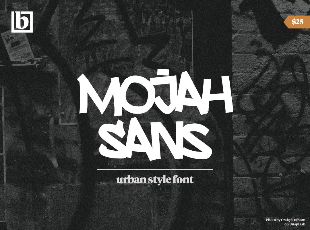 Mojah Sans Font