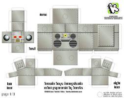 Intergalactic Robot Papercraft
