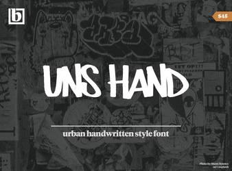 UNS Hand Font by beraka