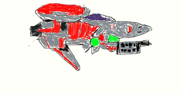 Scetch of THE ALIED MULTY FIGHTER MF.92GX HALBARD by Okmifan1sbff