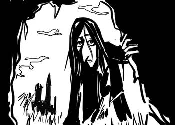 Snape vs Whomping Willow Animated Gif by FondRecollections