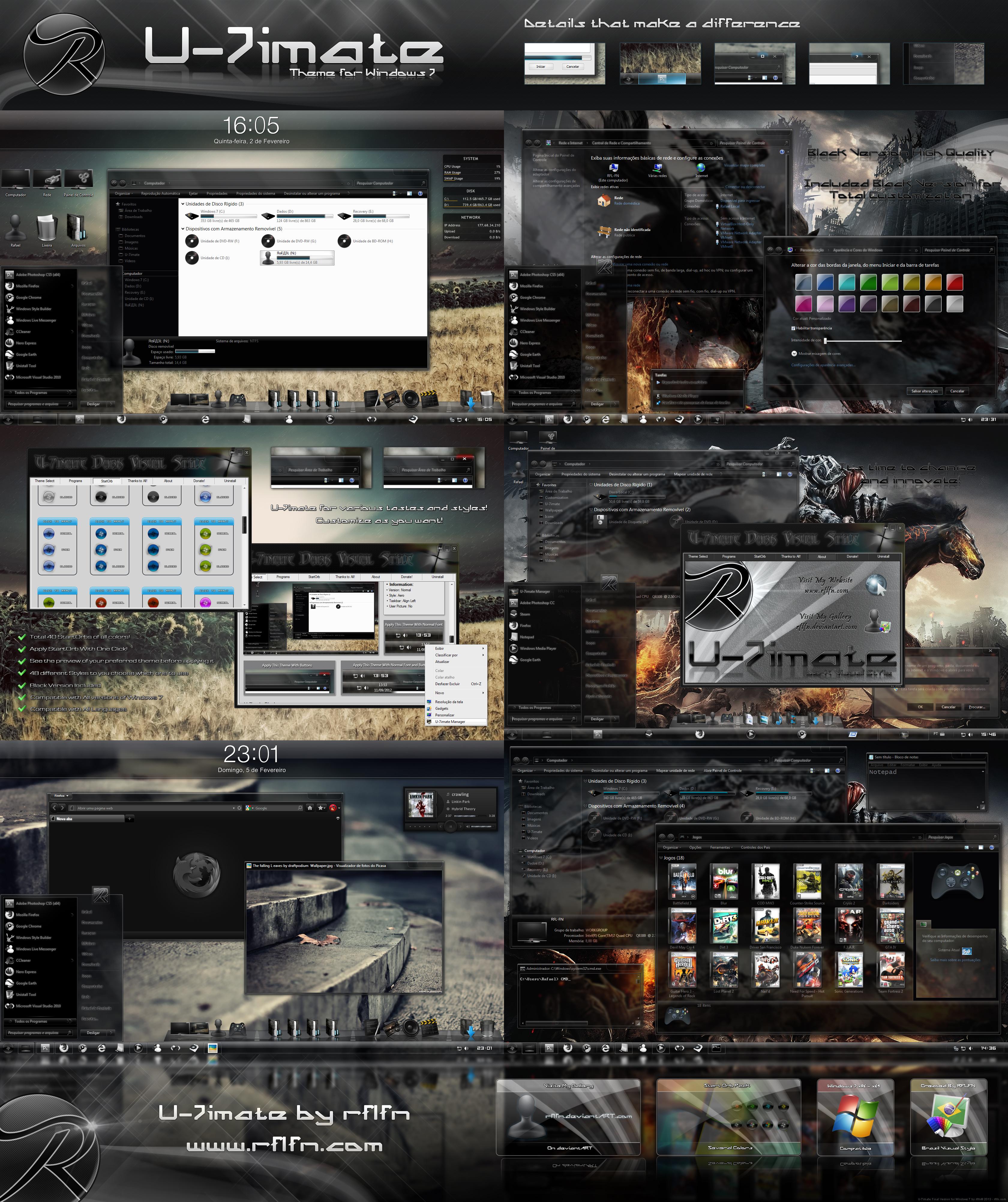U-7imate Final Version for Windows 7 by rflfn