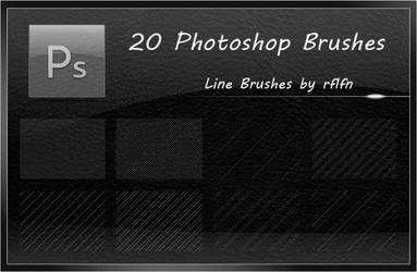 20 Line Brushes