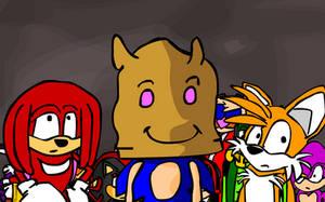 Sonic Heroes in minutes by Rogerregorroger