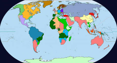 the world in 1900 by LoreC10