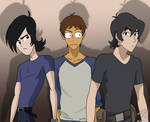 Lance, Lance, and Keith