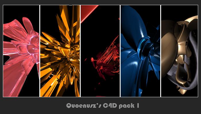 C4D pack 1 by Quoenusz