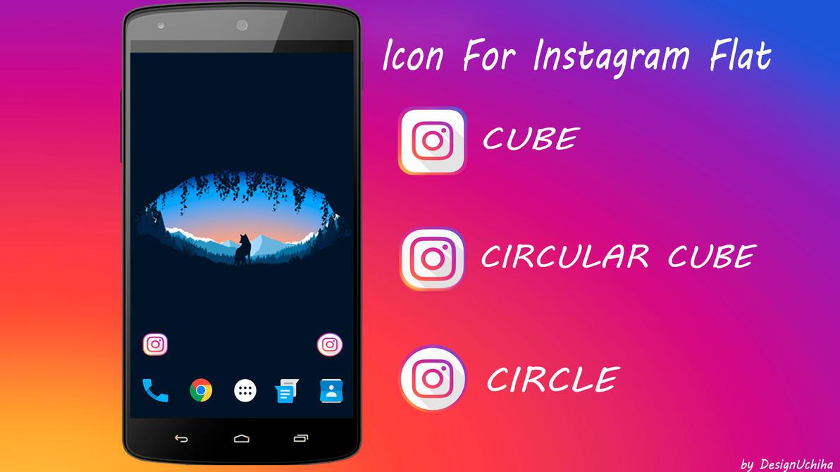 Icon Flat Instagram By Designuchiha by designuchiha