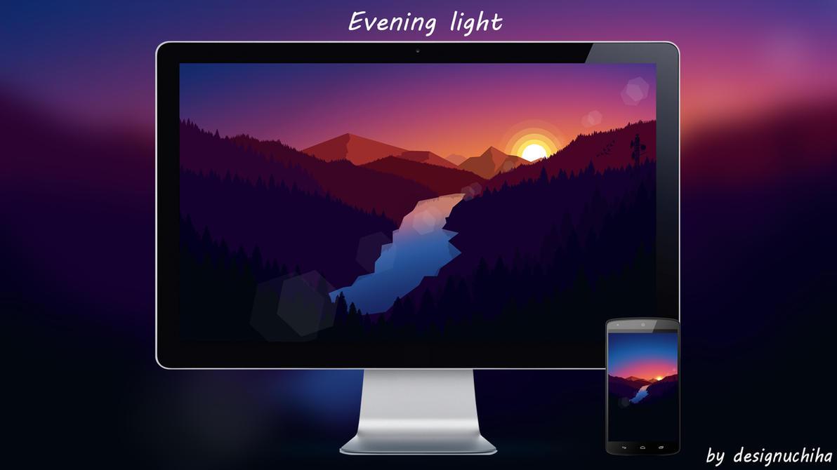 Evening Light  by designuchiha by designuchiha
