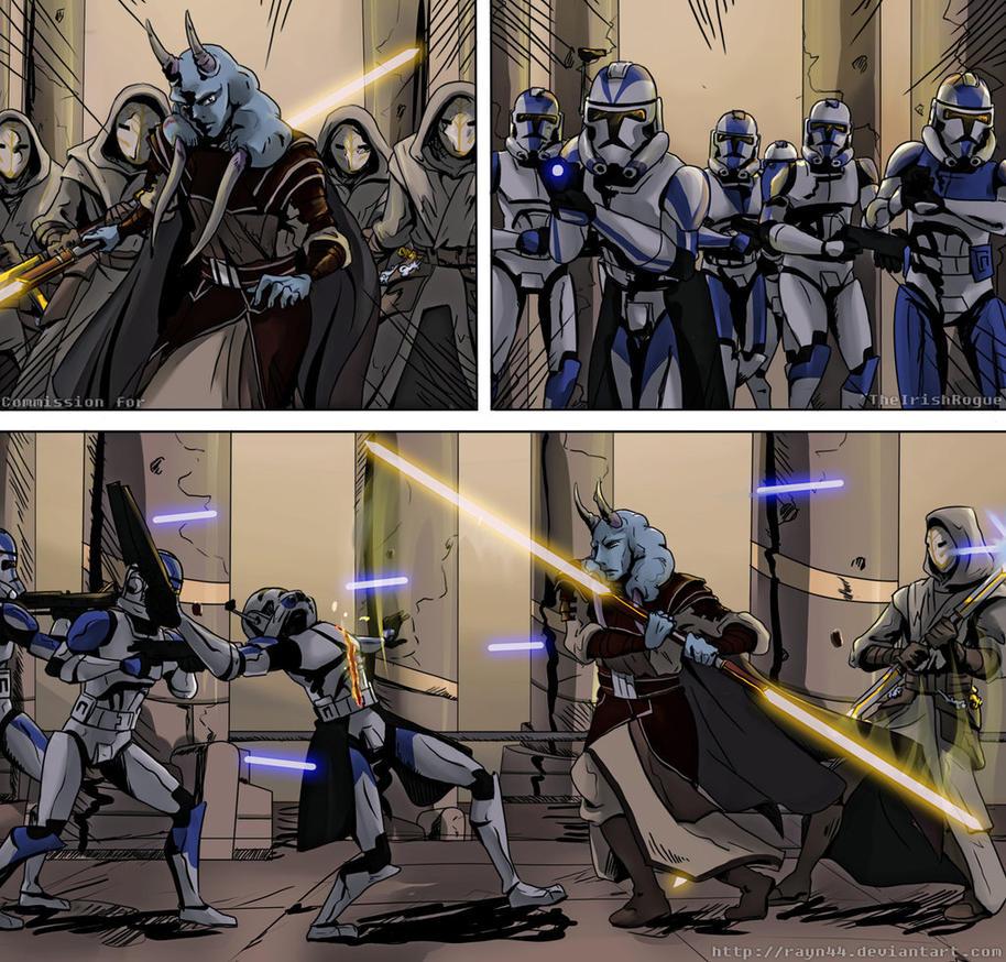 star wars clone wars knightfall 75 by theirishrogue on